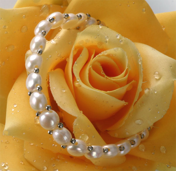 Süßwasser Zucht-Perlenarmband