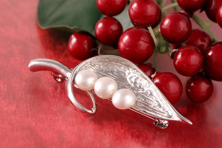 Süßwasser Zucht-Perlen-Kette Perlen 4-5mm -weiß-