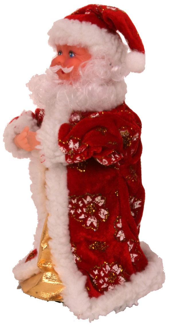 weihnachtsmann 28cm santa claus nikolaus musik tanzend. Black Bedroom Furniture Sets. Home Design Ideas